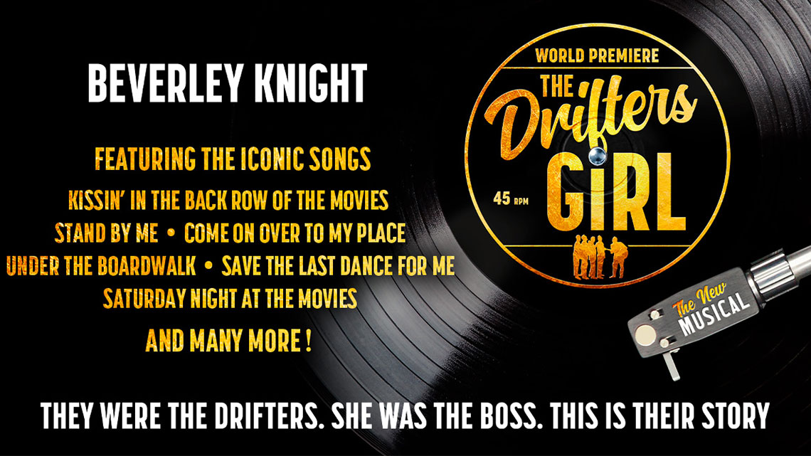 Record with the Drifters song titles on it