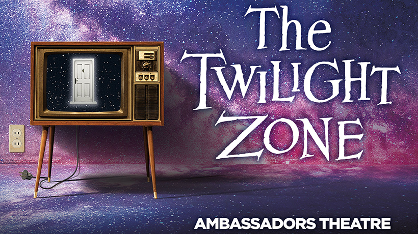 Television playing the twilight zone